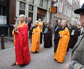 Dalai Lama in Nederland