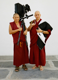 Monk with a camera2
